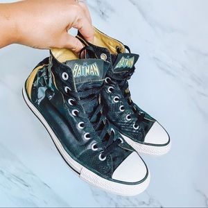 Converse Batman Hightop Sneakers